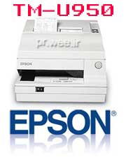 صدور پر فراژ (برجسته نما) و فيش برگ EPSON TM-U950